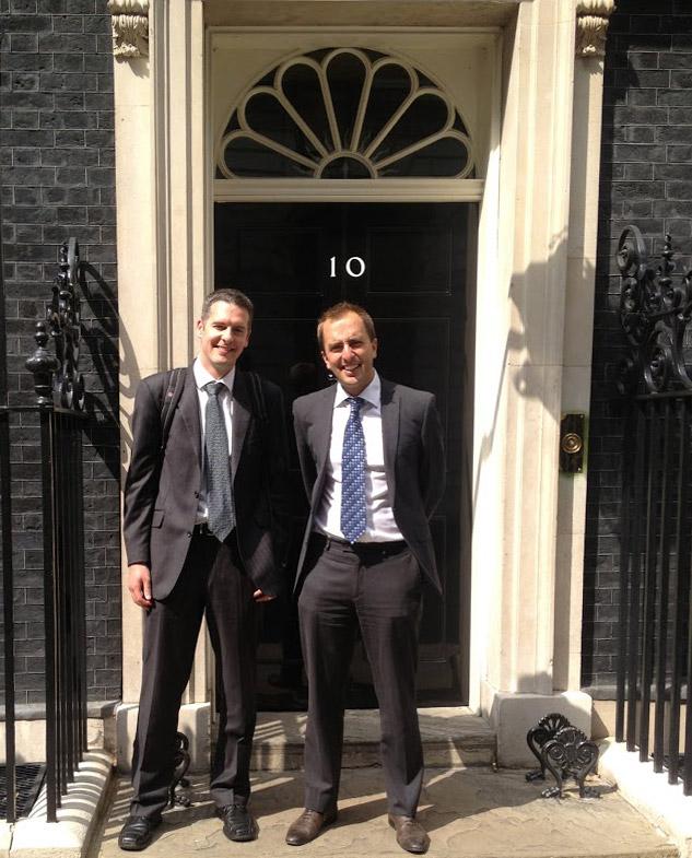 Phil and Steve at No 10