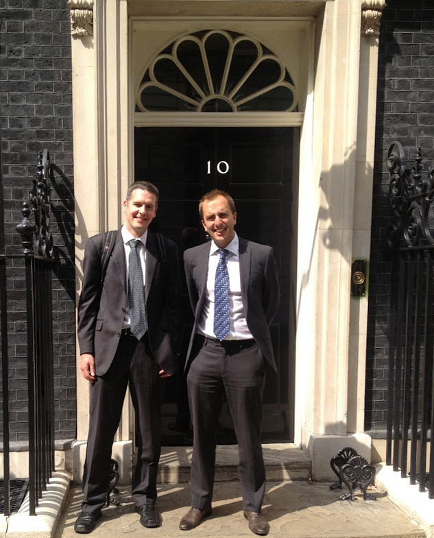 Phil and Steve at No 10