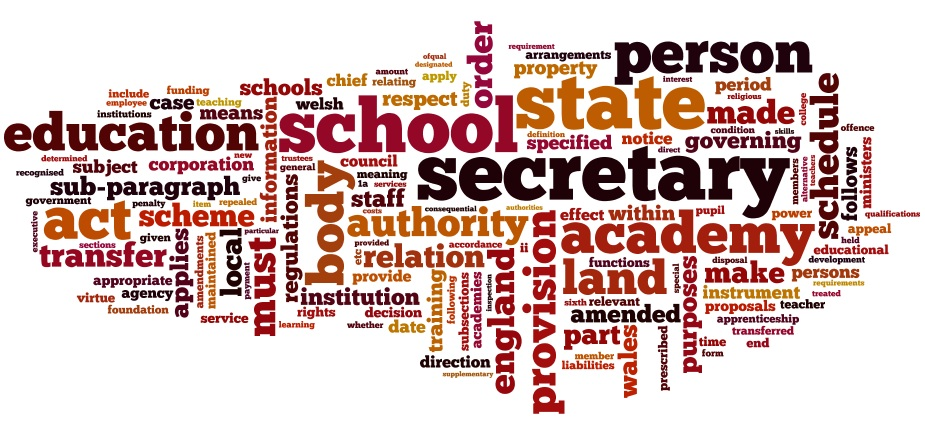 Education Act Words